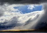 Cloud scape Saemundar hills