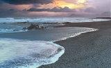 late evening langaholt beach image 1