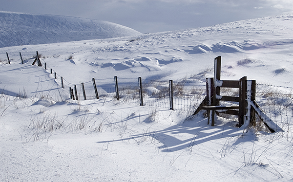 winter in the brecon beacons