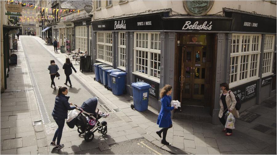 Bath Street Scene
