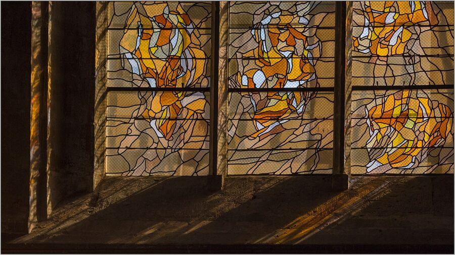 Window in Vernon Church