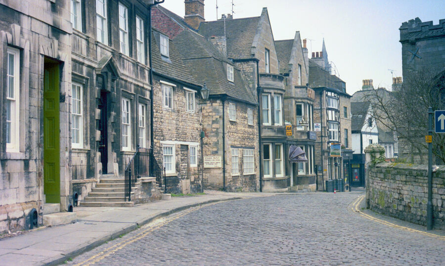 All Saints Place and Barn Hill Stamford 1983