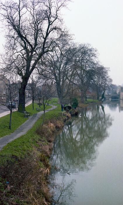 Riverside Walk Stamford 1983