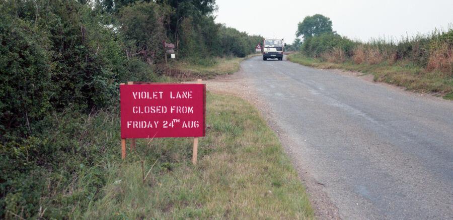 Last Days Of Violet Lane Rothwell 1990