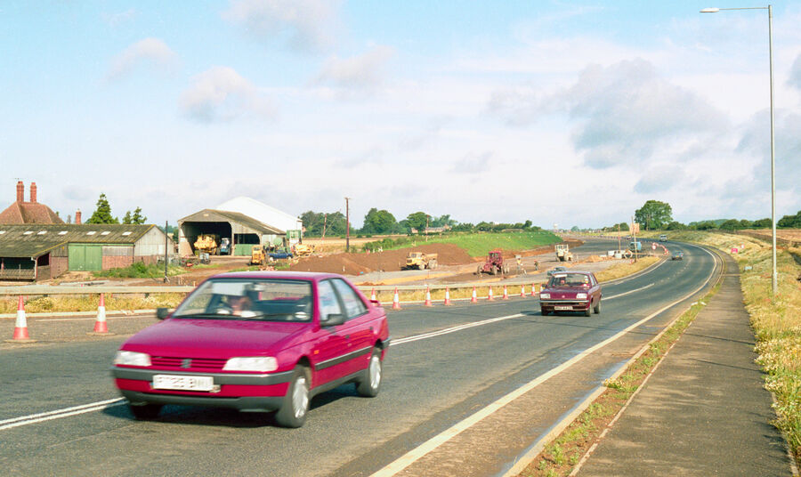 A14 Construction Rothwell 1991