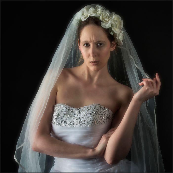 Bride With Attitude