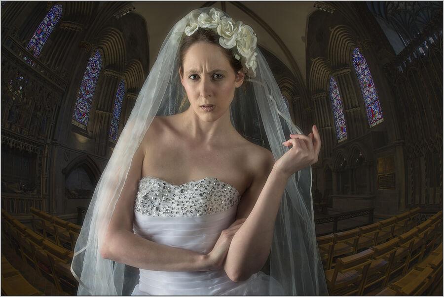 Bride With Attitude (MidPhot, MCPF Photofolio, Midland Salon)