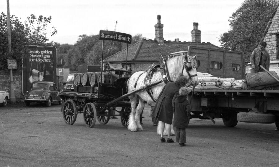 Station Road Stamford 1977