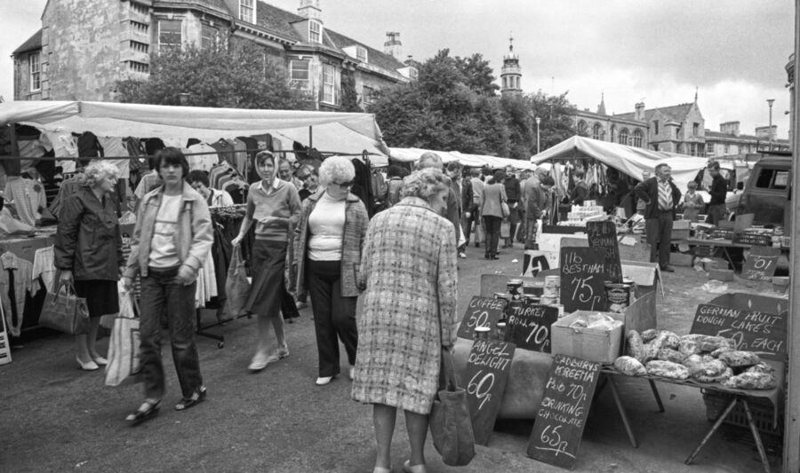 Stamford Market 1981