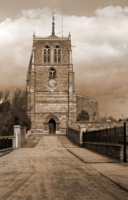 Holy Trinity Church Rothwell 1982