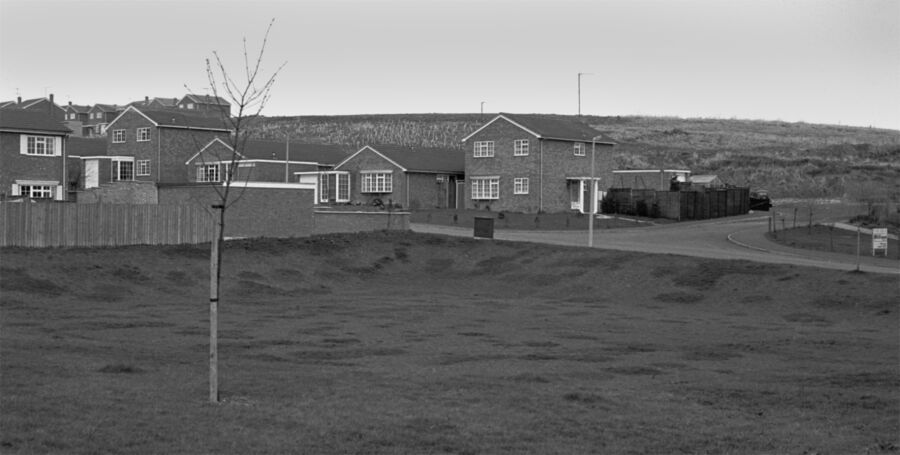 Slade Valley Avenue and The Dip Rothwell 1982