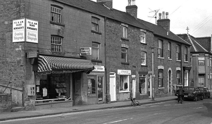 Bridge Street Rothwell 1982