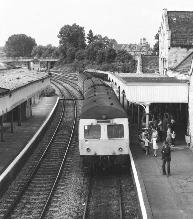 Stamford station 1982