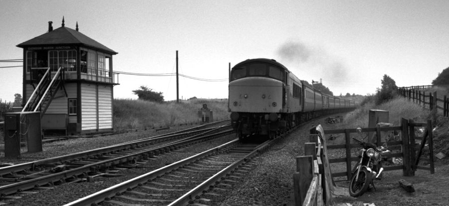 Glendon North Junction Rothwell 1982