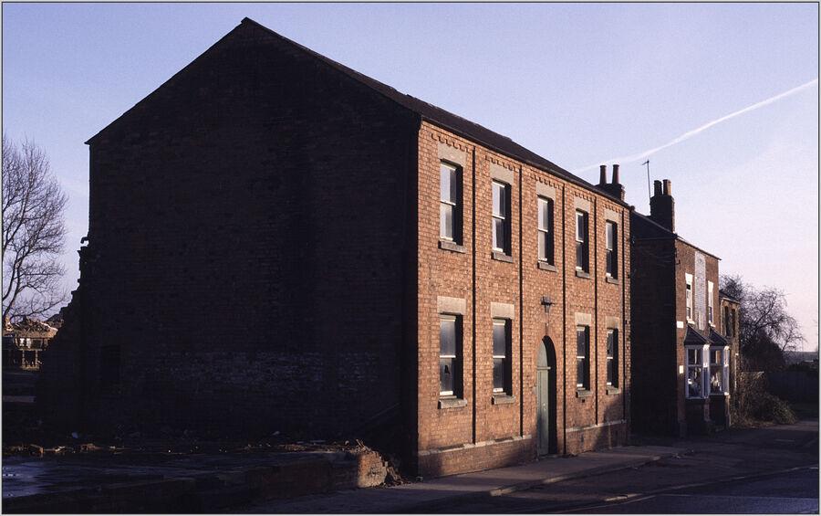 Demolition of Balls Foundry Rothwell 1989