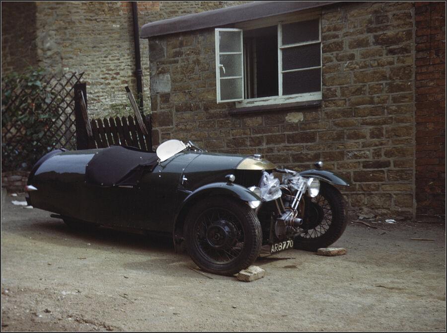 A Morgan at the Sun Inn Rothwell 1965