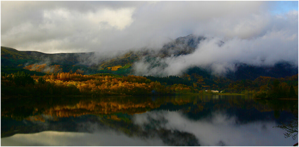 Storm clouds, Loch Venacher, Trossachs