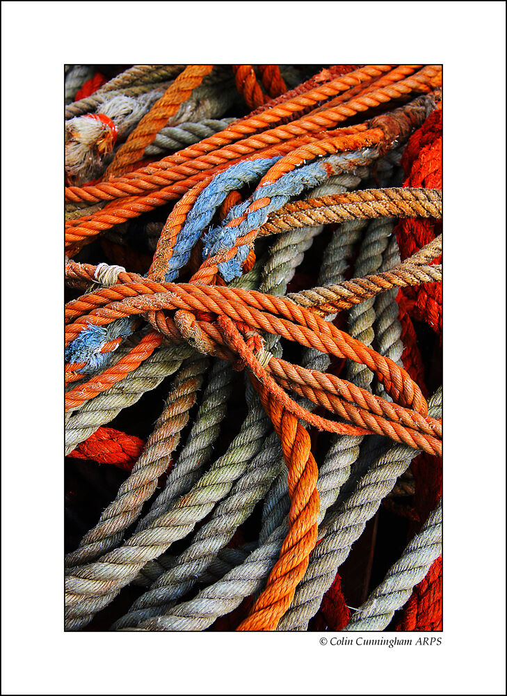 Old ship's rope's