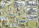 Cumbrian Lakeland Map MS3