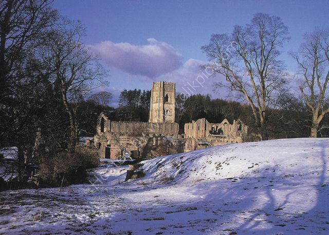 Fountains Abbey Yorkshire Out of print