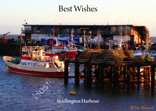 Bridlington Harbour in January