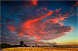 High Ercall sunset