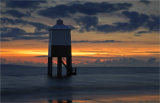 Burnham lighthouse at sunset