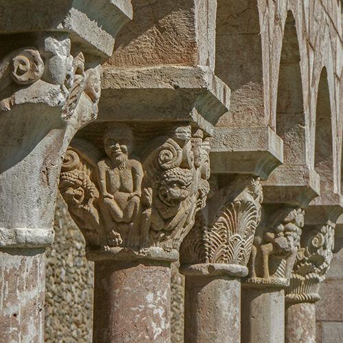Cloister capitals St Michel de Cuxa