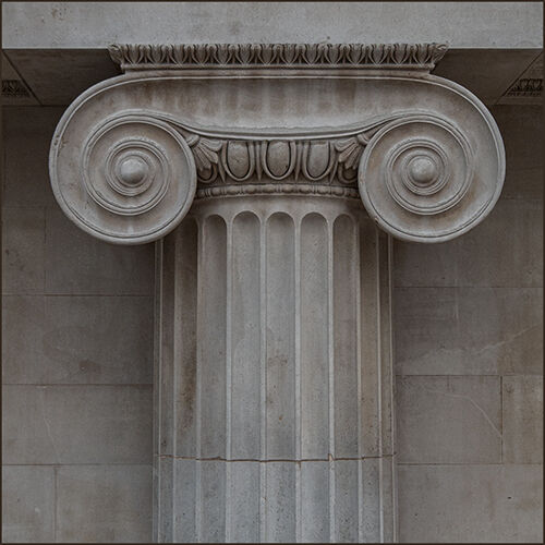 Ionic capital, Great Court, British Museum