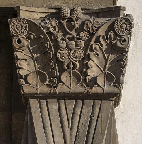 Prague doorcase