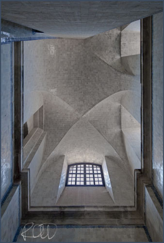 Vaulted ceiling to Kitchen, Alcobaca