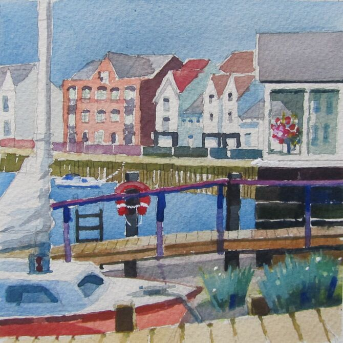 Wivenhoe quayside