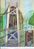 The suspension bridge at Teddington