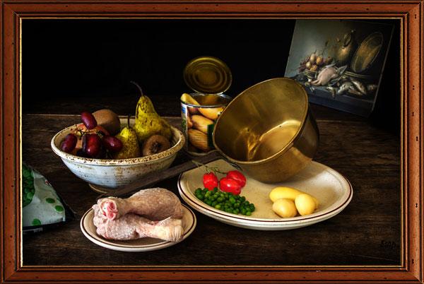 Homage to a Grand Master - Mary Pipkin