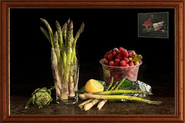Asparagus after Adriaen Coorte