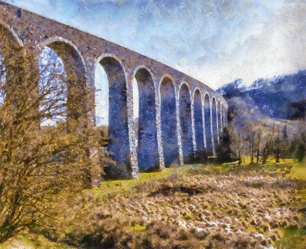 Across the valley - John Hufferdine