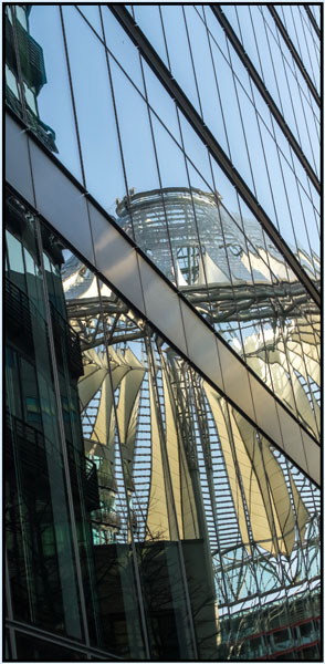 Sony Centre reflected - mary Pipkin