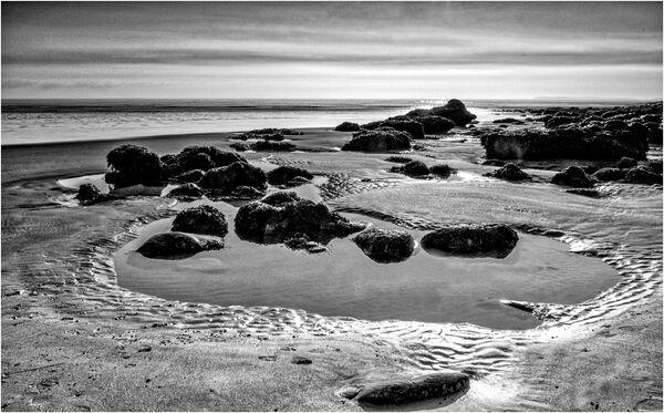 Rock pools, Pendine - John Hufferdine