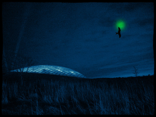 Blue dome - Ian Ledgard