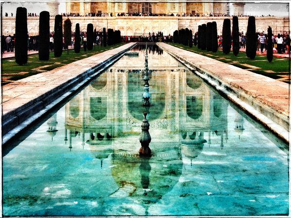Taj Mahal, Alternate view - Jane Evans