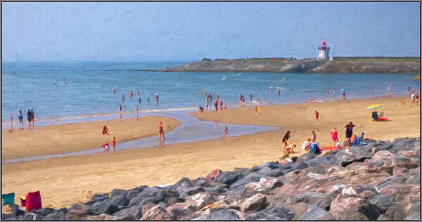 Seaside art - ian Ledgard