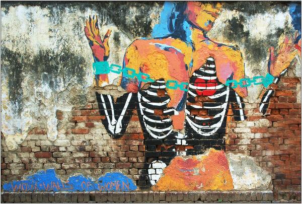Walls of women - Jane Evans