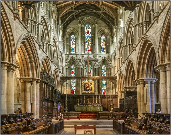 the Choir Hexham Abbey - Ian Ledgard