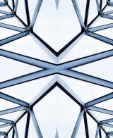Silver bridge pattern - Lynne Ball