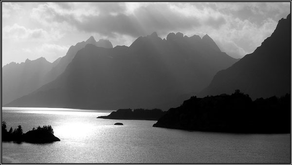 Lofoten view - Margaret Ledgard