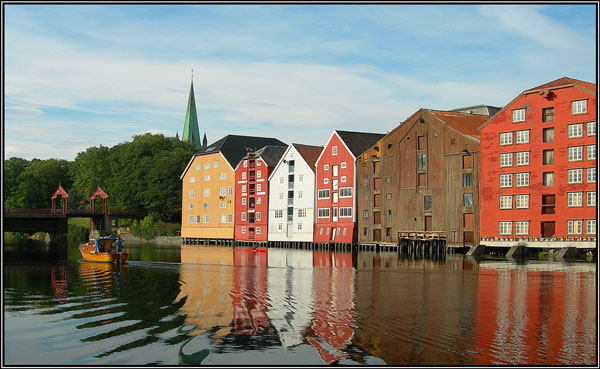 Trondheim reflections - Margaret Ledgard
