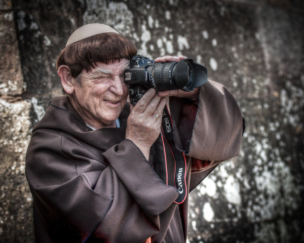 The Friar shoots Canon - Martin Smith