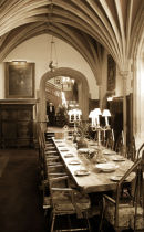 Awaiting guests