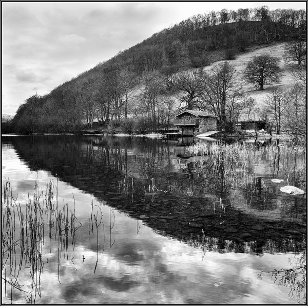 Boathouse Ullswater - Ian Ledgard
