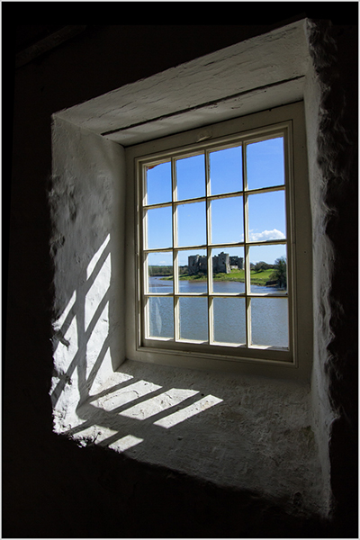 Carew Castle from the Tide Mill - Mary Pipkin